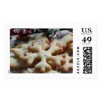 Baked Snowflakes Poststamp Postage