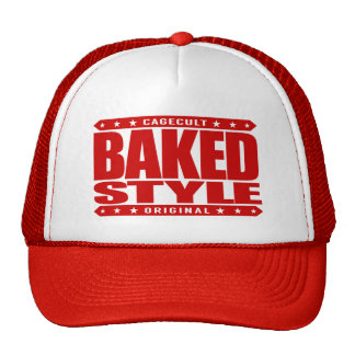 BAKED STYLE - The World of Green Smoke Serpents Trucker Hat