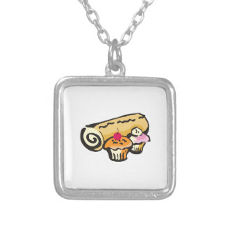 BAKED SWEETS SQUARE PENDANT NECKLACE