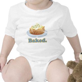 BAKED text baked potato Bodysuit