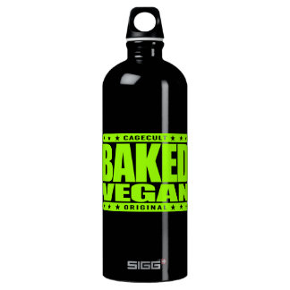 BAKED VEGAN - Natural Green Plant Based Lifestyle Water Bottle