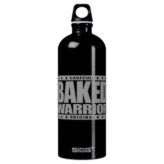 BAKED WARRIOR - Green Plant Powered Conciousness Water Bottle