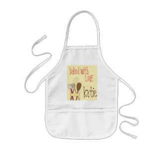 Baked with Love Apron