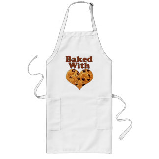 Baked With Love (Cookie Heart) Long Apron