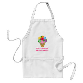 Baked with Love in Momma's Kitchen Adult Apron