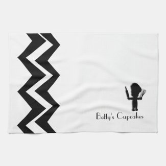 Baker Art-Deco Custom Towels