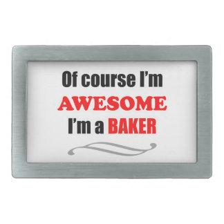 Baker Awesome Family Rectangular Belt Buckle