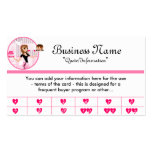 Baker/Bakery/Pastry Chef (D2) Frequent Buyer Cards Business Card Template