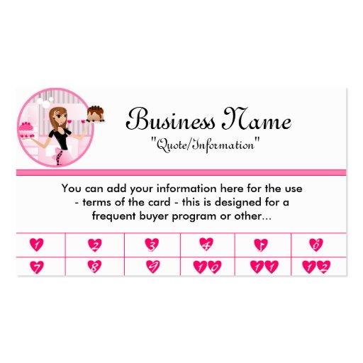 cake business card templates page13 bizcardstudio. Black Bedroom Furniture Sets. Home Design Ideas