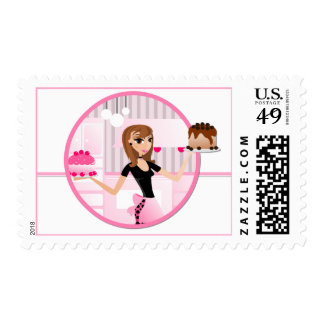 Baker/Bakery/Pastry Chef Postage Stamps D2