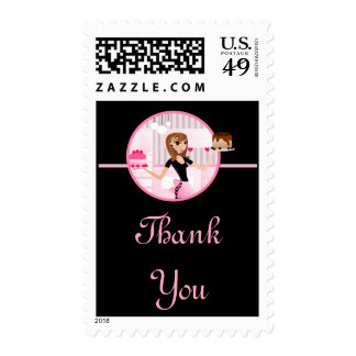 Baker/Bakery/Pastry Chef Postage Stamps D3