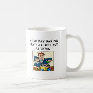 baker baking design coffee mug