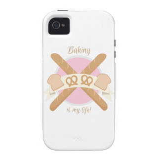 Baker_BakingIsMyLife Case-Mate iPhone 4 Carcasa