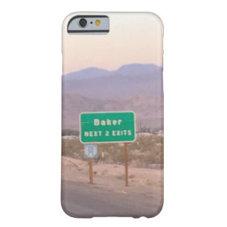 Baker Barely There iPhone 6 Case