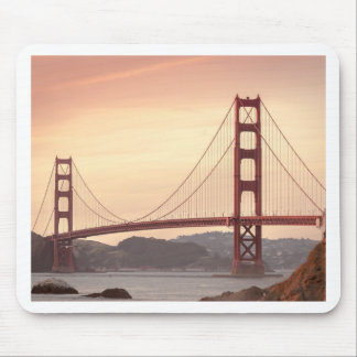 Baker beach holiday mouse pad