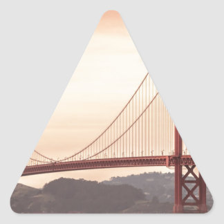 Baker beach holiday triangle sticker