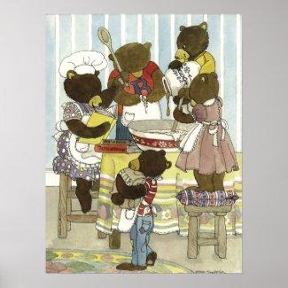 Baker Bears Print print