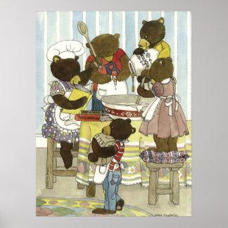 Baker Bears Print