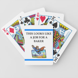 BAKER BICYCLE PLAYING CARDS