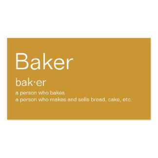 Baker Business Cards