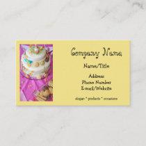 Baker/Cake Decorator Business Card