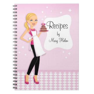 Baker Cake Decorator Party Planner Notebook