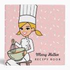 Baker Chef Illustrated Recipe Binder
