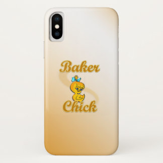 Baker Chick iPhone X Case