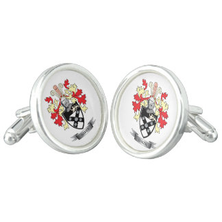 Baker Coat of Arms Cufflinks