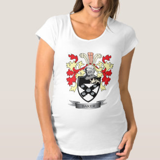 Baker Coat of Arms Maternity T-Shirt