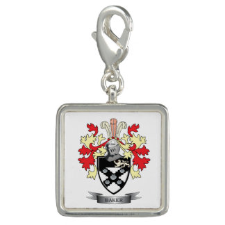 Baker Coat of Arms Photo Charms
