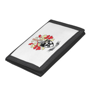 Baker Coat of Arms Trifold Wallet