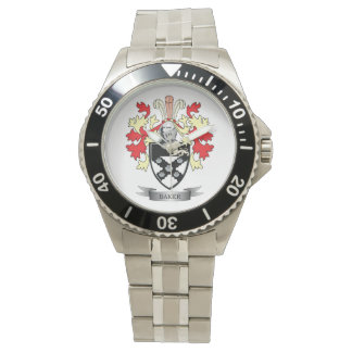 Baker Coat of Arms Wristwatch