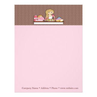 Baker Cupcakes Business Letterhead
