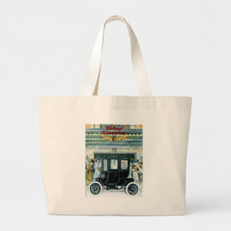 Baker Electric Cars - Vintage Ad Large Tote Bag