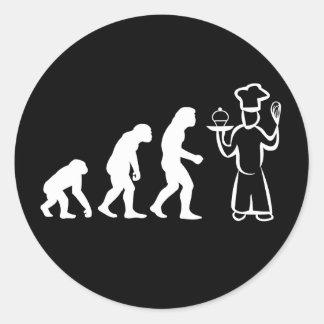Baker Evolution Classic Round Sticker