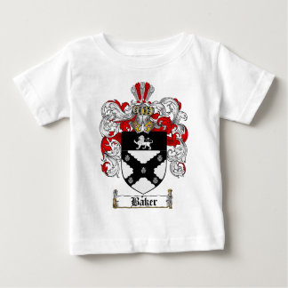 BAKER FAMILY CREST -  BAKER COAT OF ARMS BABY T-Shirt