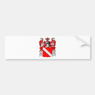 Baker (German) Coat of Arms Bumper Sticker