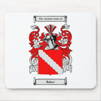 Baker (German) Coat of Arms Mouse Pad