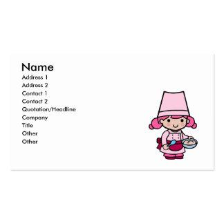 Baker Girl Business Cards