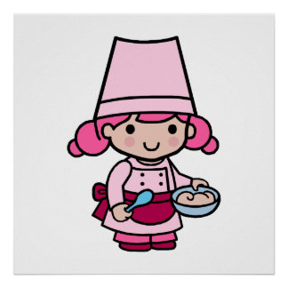 Baker Girl Poster