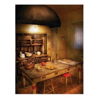 Baker - Granny's Stove Postcard