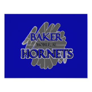Baker High School Hornets - Mobile, AL Card