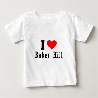 Baker Hill, Alabama City Design Baby T-Shirt