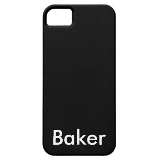 Baker iPhone SE/5/5s Case