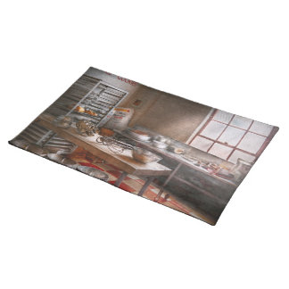 Baker - Kitchen - The commercial bakery Cloth Placemat