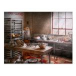 Baker - Kitchen - The commercial bakery Postcards