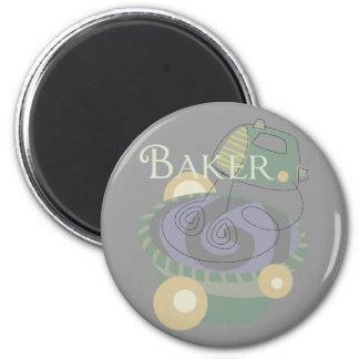 Baker Fridge Magnet