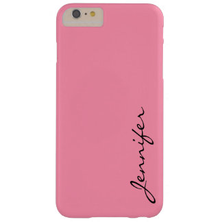 Baker-Miller pink color background Barely There iPhone 6 Plus Case