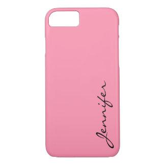 Baker-Miller pink color background iPhone 7 Case